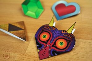 Legend of Zelda Corner Bookmarks (Tutorial) by studioofmm