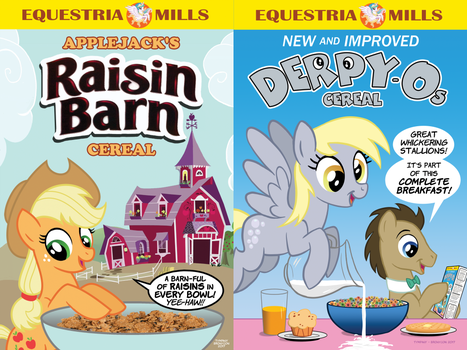 Equestrian Cereals by Tim-Kangaroo