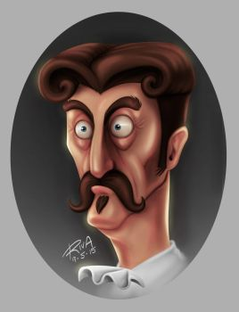 The Confused Gentleman by riva13