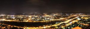 Trier Panorama @ Night by jointadventure