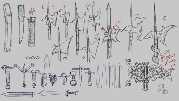 Weapons by mary3m