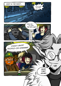Team Spoopy - Page One by tea-bug