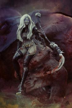 Lady Death by BBarends