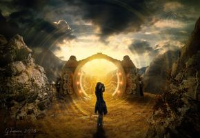 The time gate by FeriAnimations