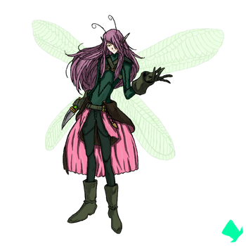 The Pixie Rogue, Jaster by MadHatter-Himself