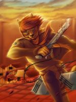 Tiggs - AoT commission by UKthewhitewolf