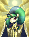Celestia, take off your crown. by Dreatos
