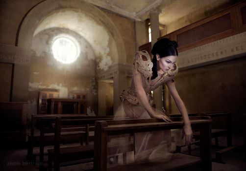 Waiting for your prayer by Annie-Bertram