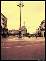 Place in Bordeaux by XaVcom