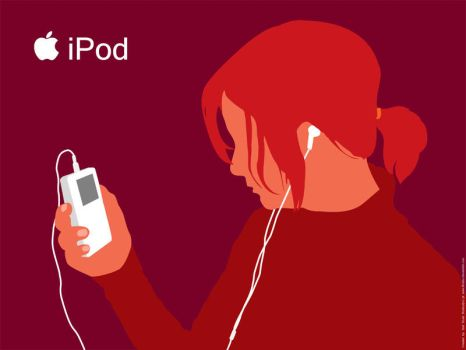 Kate iPod Wall by Brudzu