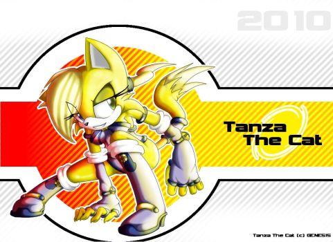 Tanza The Cat by Disolution