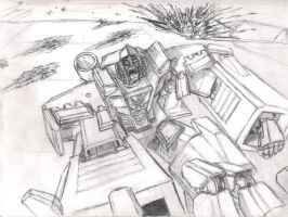don't piss off Megatron by Bubbalou