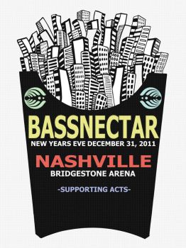 Bass Nectar Poster Concept by gloamstur
