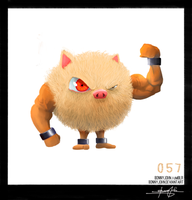 Primeape!  Pokemon One a Day!