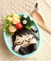 Shiz mascot Bento lunch by loveewa