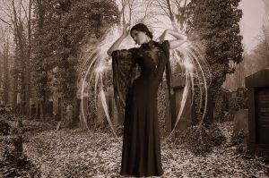 Angel in Sepia by MirrorQueen