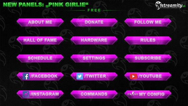 Streamity.gg - Panels (Package) - #007 by streamity