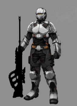 Bound Souls Sniper by mohzart