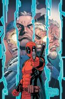 Deadpool Cable Split Second 3 by ReillyBrown