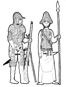 Sazonian Soldiers by TheReptilianGeneral