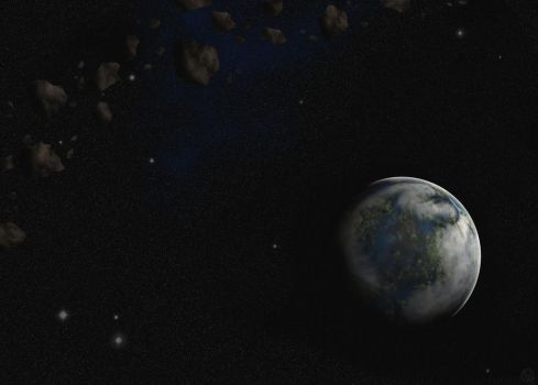 Earth-like exoplanet by No-one-o1