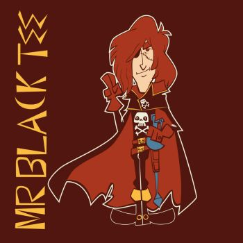 Space Pirate Captain Harlock by marisolivier
