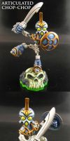 Skylanders Chop Chop with joints by Jin-Saotome