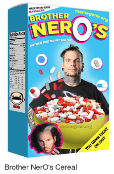 Brother NerO's Cereal by leonrock84