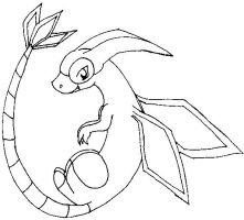 flygon coloring pages - photo#19