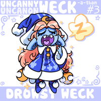 Uncanny Weck #3: Drowsy Weck by The-Knick