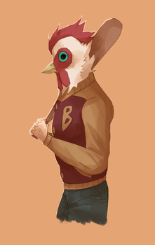 rooster by nightsoils