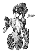 Widowmaker by ForrestAnthony