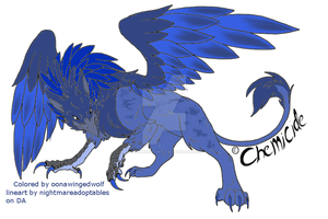 Gryphon Adopt 100 points! by OonaWingedWolf