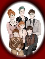 Harry Potter's Family by Fefe1414