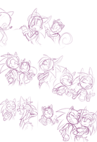 Sonic Stories - Long Time No See! by Kayla-Na