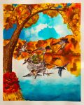Tinfang Warble in autumn by MirachRavaia