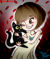 Fran and Mr. Midnight by Kunstbanane