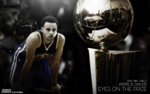 Stephen Curry | Eyes on the Prize | Wallpaper by ClydeGraffix