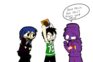 2 Purple Guy 2 Vince and 3 guys by ShadowtailsDerol