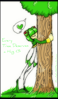 Every Tree Deserves a Hug by MariaTheCat66
