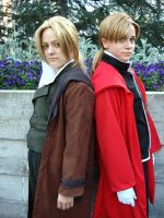 The Elric Brothers by Rynnnn