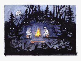 Campfire Stories by MaryDoodles