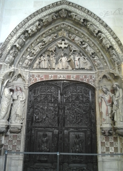 Door of the Cathedral by Zivichi