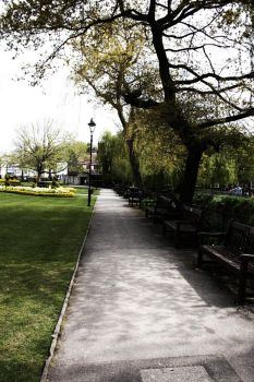 Winchester park by ClairutPhotography