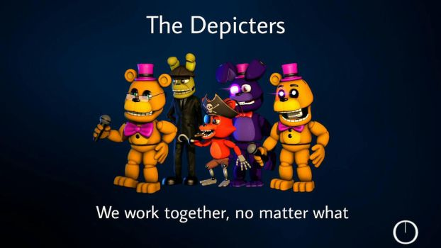 [FNAFW SFM] The Depicters Loading Screen by Delirious411