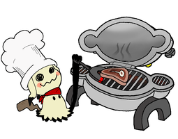 Chef Mimikyu and Magnezone Grill