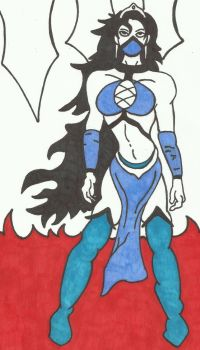 Kitana [Sharpie Edition] by LudeMagik