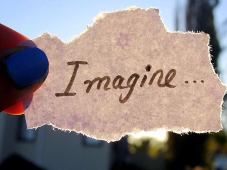 Imagine. by Mya-Kat