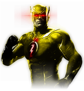 Injustice 2 - Reverse Flash Alternate Costume by TheDarkRinnegan