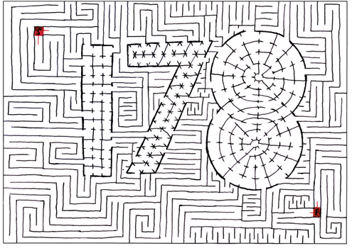 Maze 178- One Seven Ate. by Nebagram